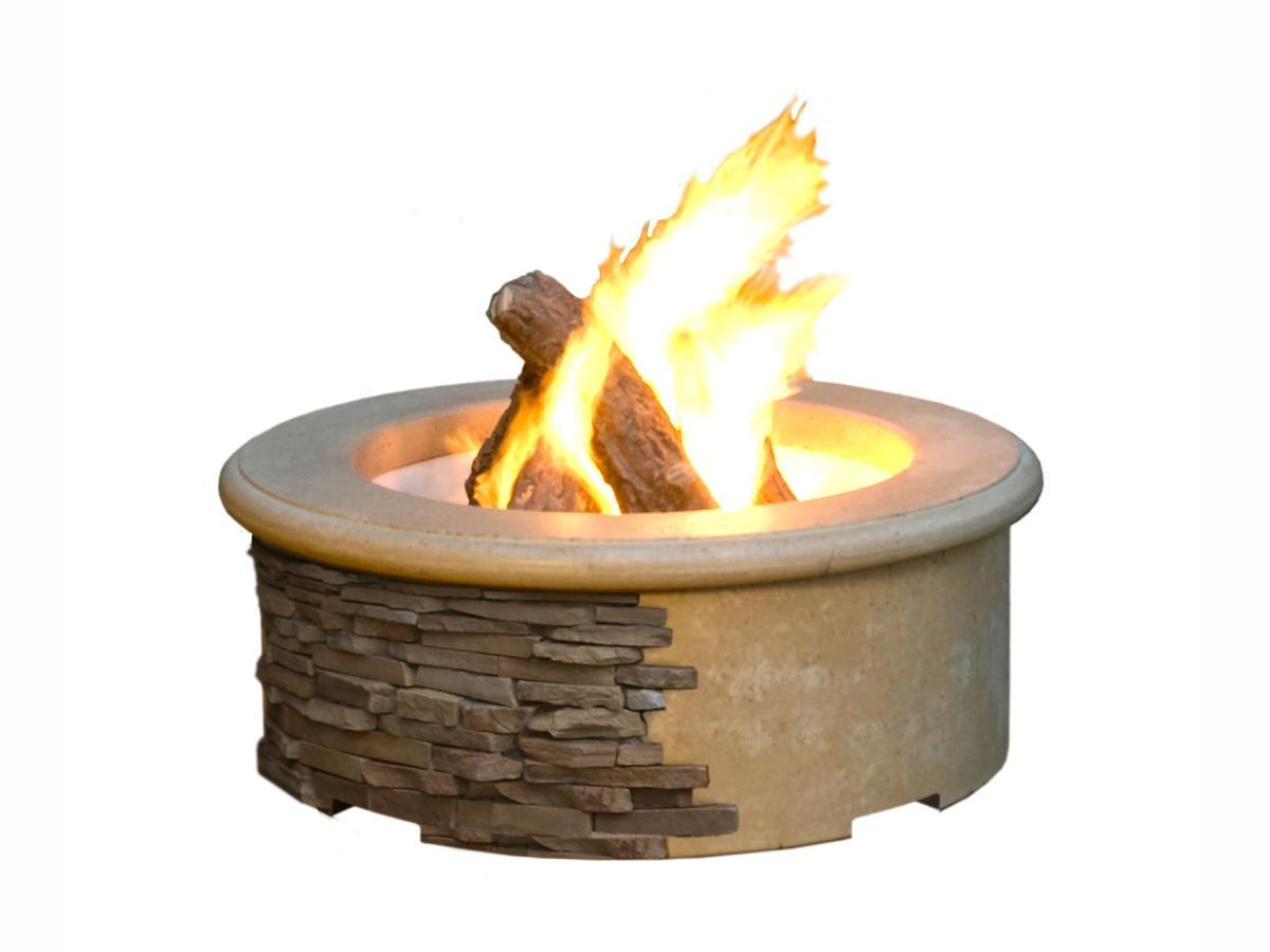 American Fyre Designs Contractor's Model Fire Pit - Fire Pit Oasis