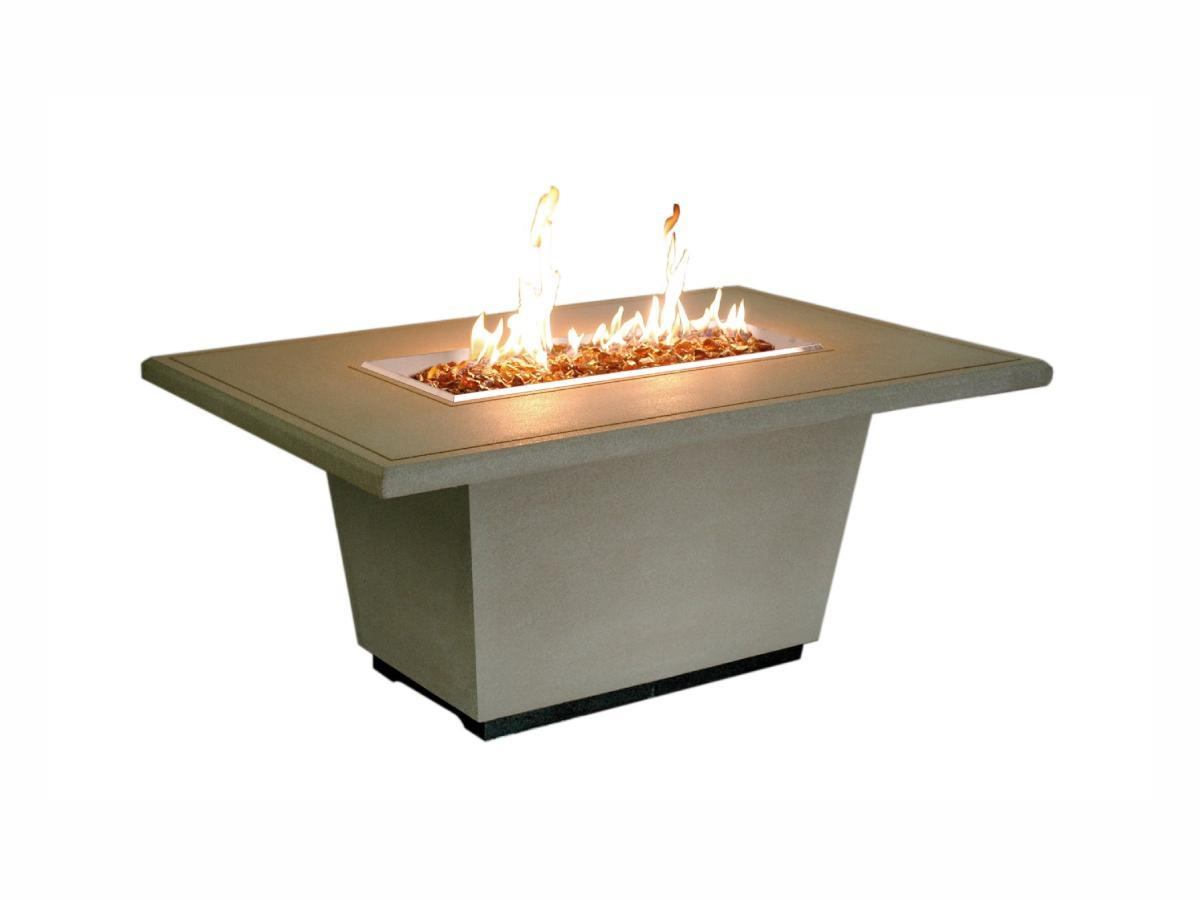 American Fyre Designs Cosmopolitan Rectangle - Fire Pit Oasis