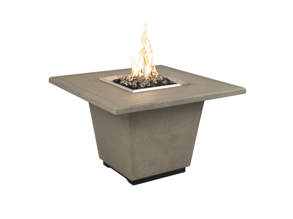 American Fyre Designs Cosmopolitan Square - Fire Pit Oasis