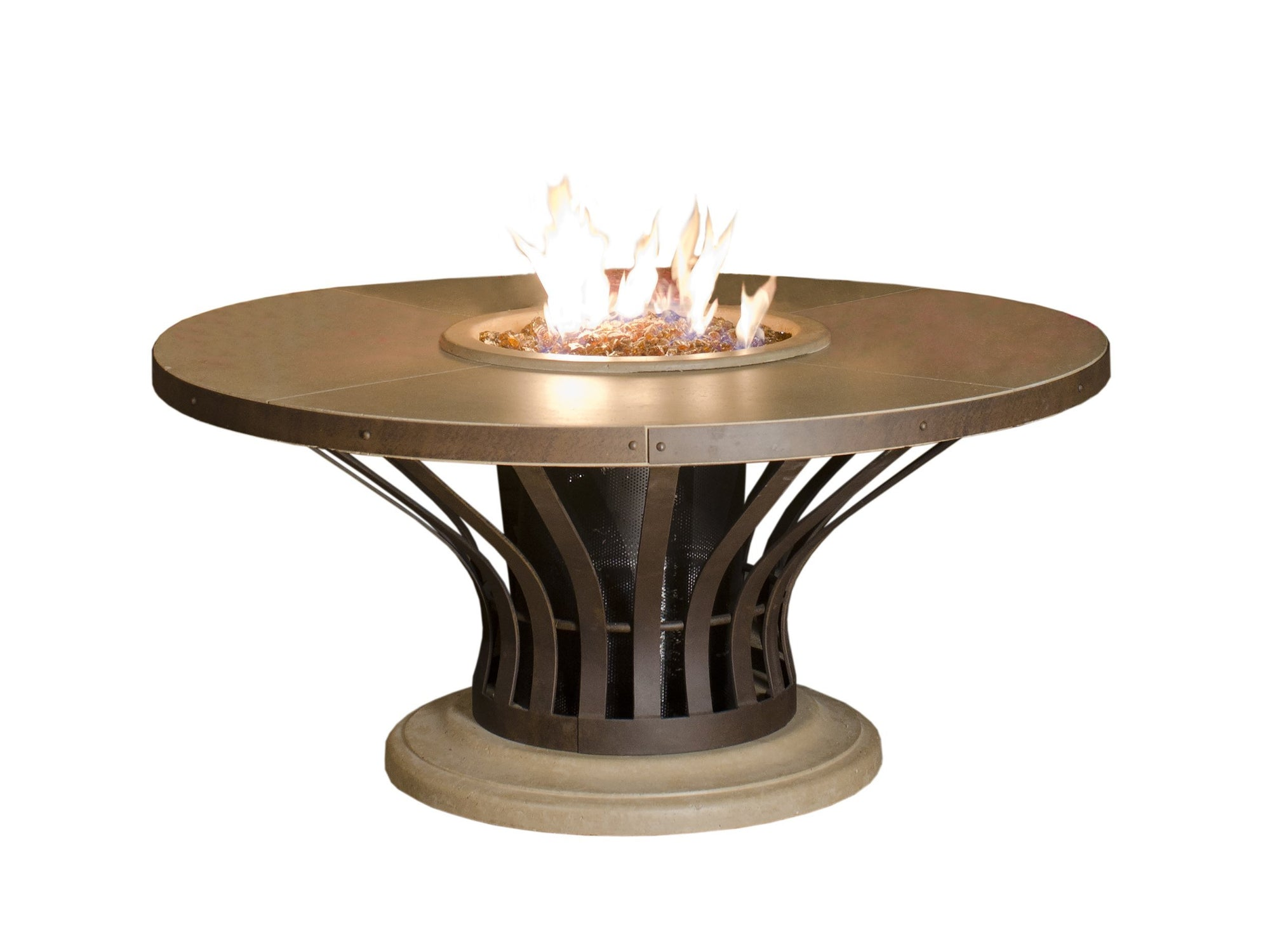 American Fyre Designs Fiesta Fire Table - Fire Pit Oasis