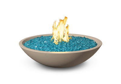 "American Fyre Designs Marseille Fire Bowl 32"" - Fire Pit Oasis"