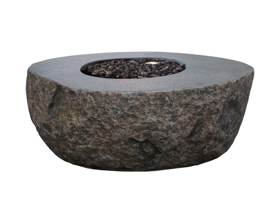 Elementi Boulder Fire Table - Fire Pit Oasis