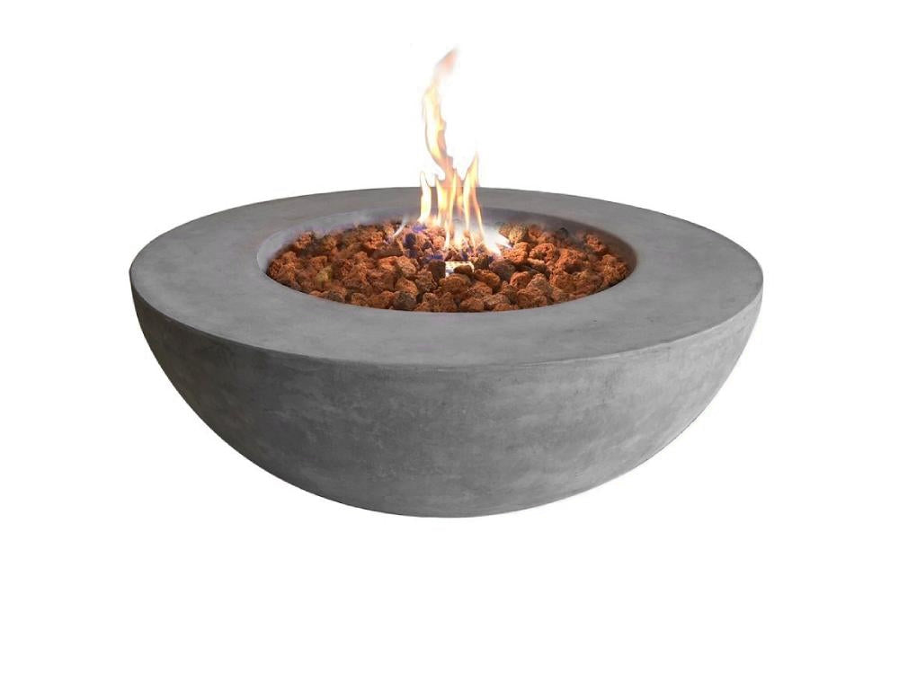 Elementi Lunar Bowl Fire Table - Fire Pit Oasis