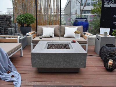 Elementi Manhattan Fire Table - Fire Pit Oasis