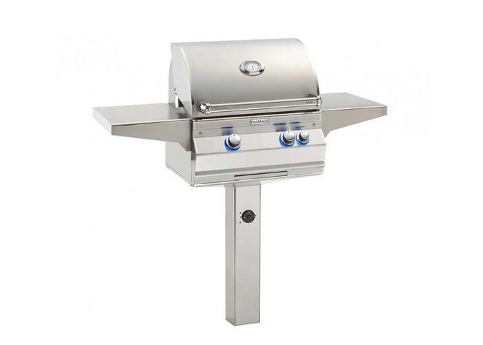 Fire Magic 2020 Aurora A430s In Ground Post Mount Grill - Fire Pit Oasis