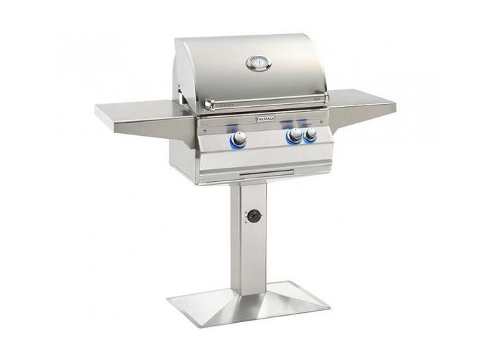Fire Magic 2020 Aurora A430s Patio Post Mount Grill - Fire Pit Oasis