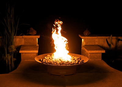 "Fire Pit Art Asia 36"" Fire Pit - Fire Pit Oasis"