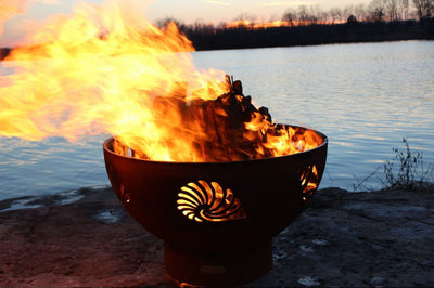Fire Pit Art Beachcomber Fire Pit - Fire Pit Oasis