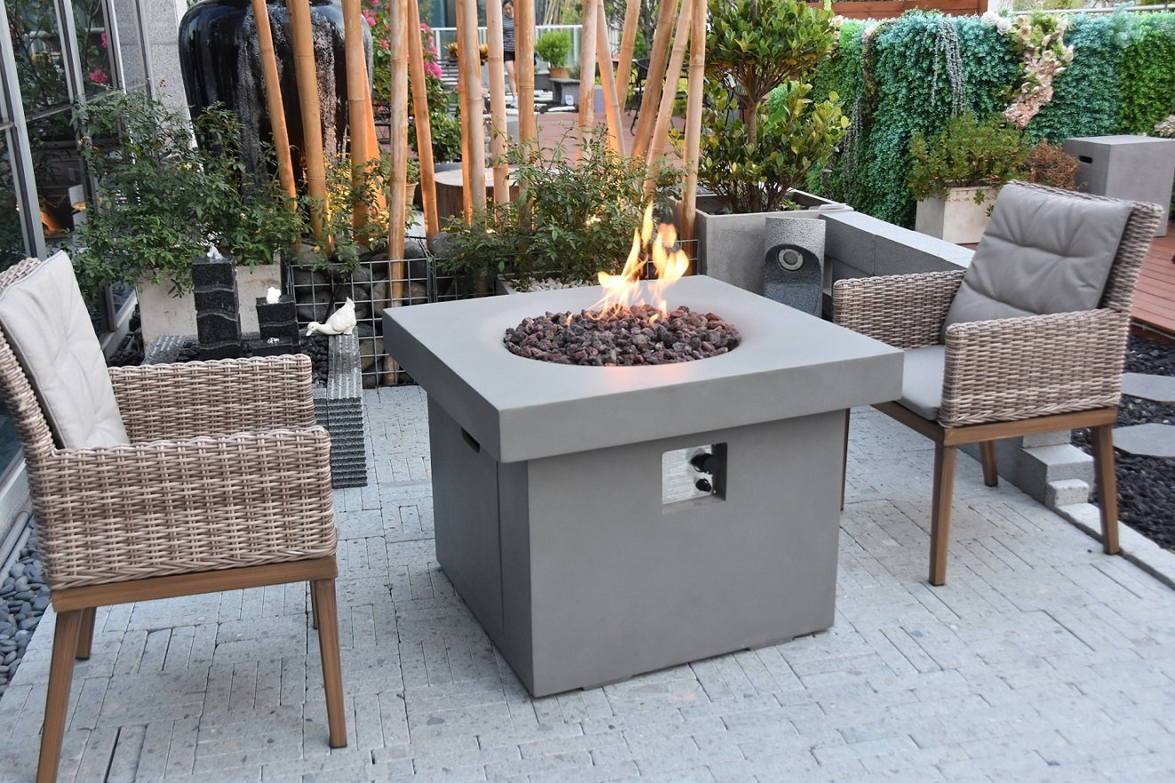 Modeno Burlington Fire Table - Fire Pit Oasis