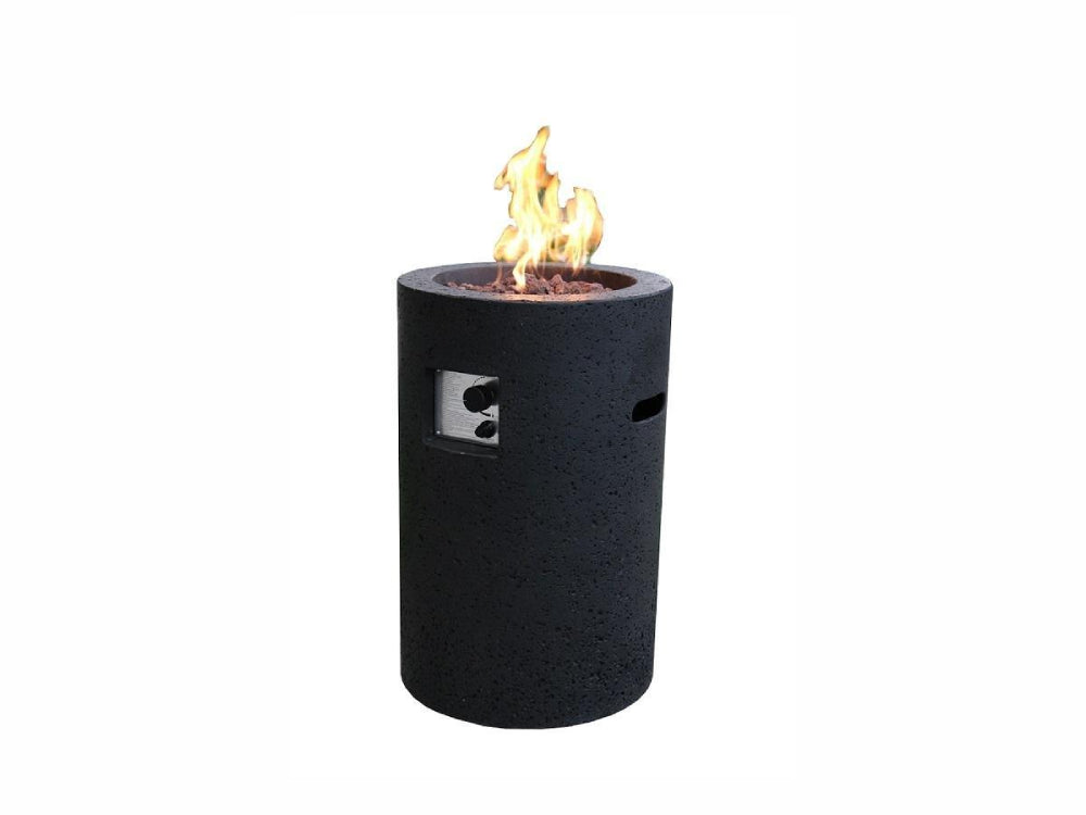 Modeno Lava Tube Fire Pit - Fire Pit Oasis