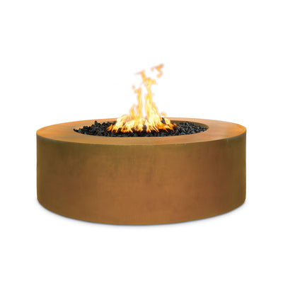 "TOP Fires by The Outdoor Plus 18"" Tall Unity Metal 72"" Fire Pit - Fire Pit Oasis"
