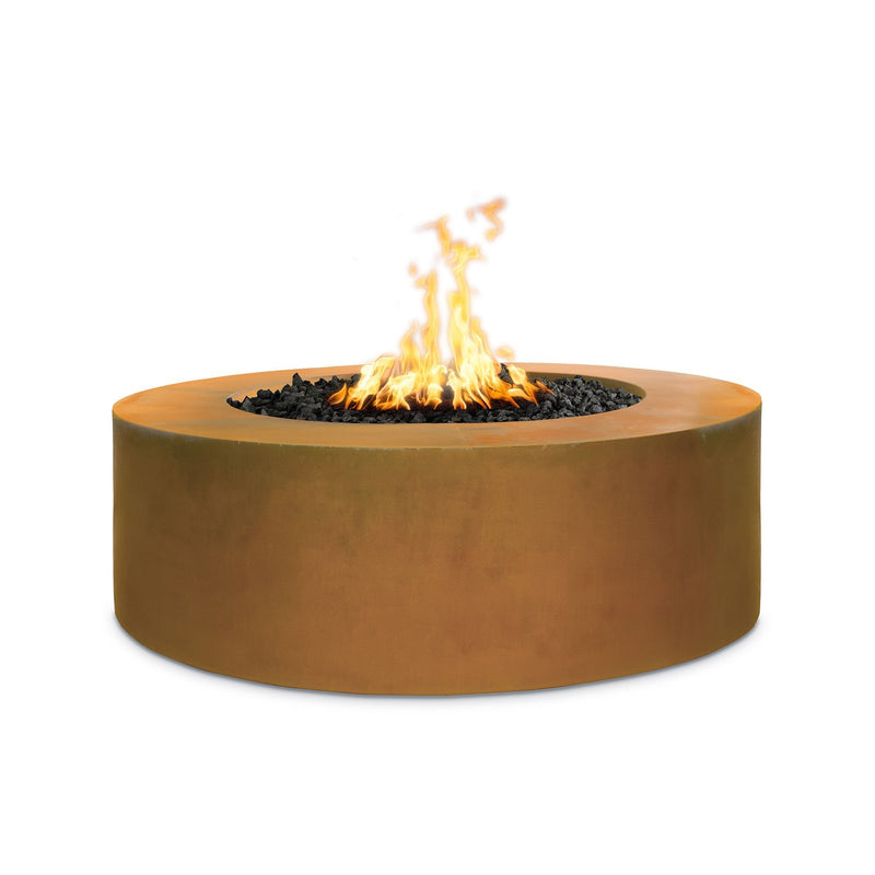 """TOP Fires by The Outdoor Plus Unity Metal Fire Pit 72"""" - 24"""" Tall"""