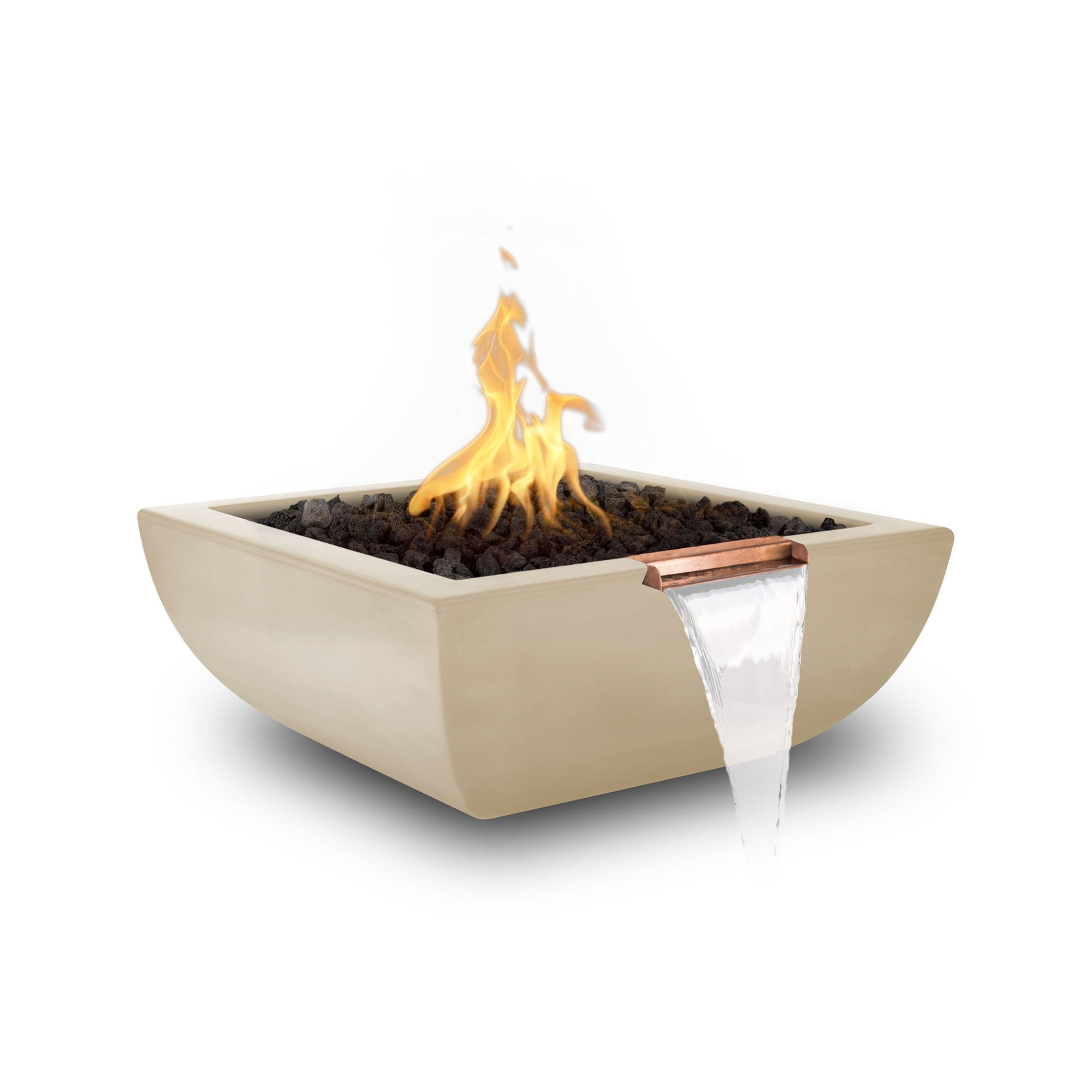 "TOP Fires by The Outdoor Plus Avalon Fire & Water Bowl 30"" - Fire Pit Oasis"
