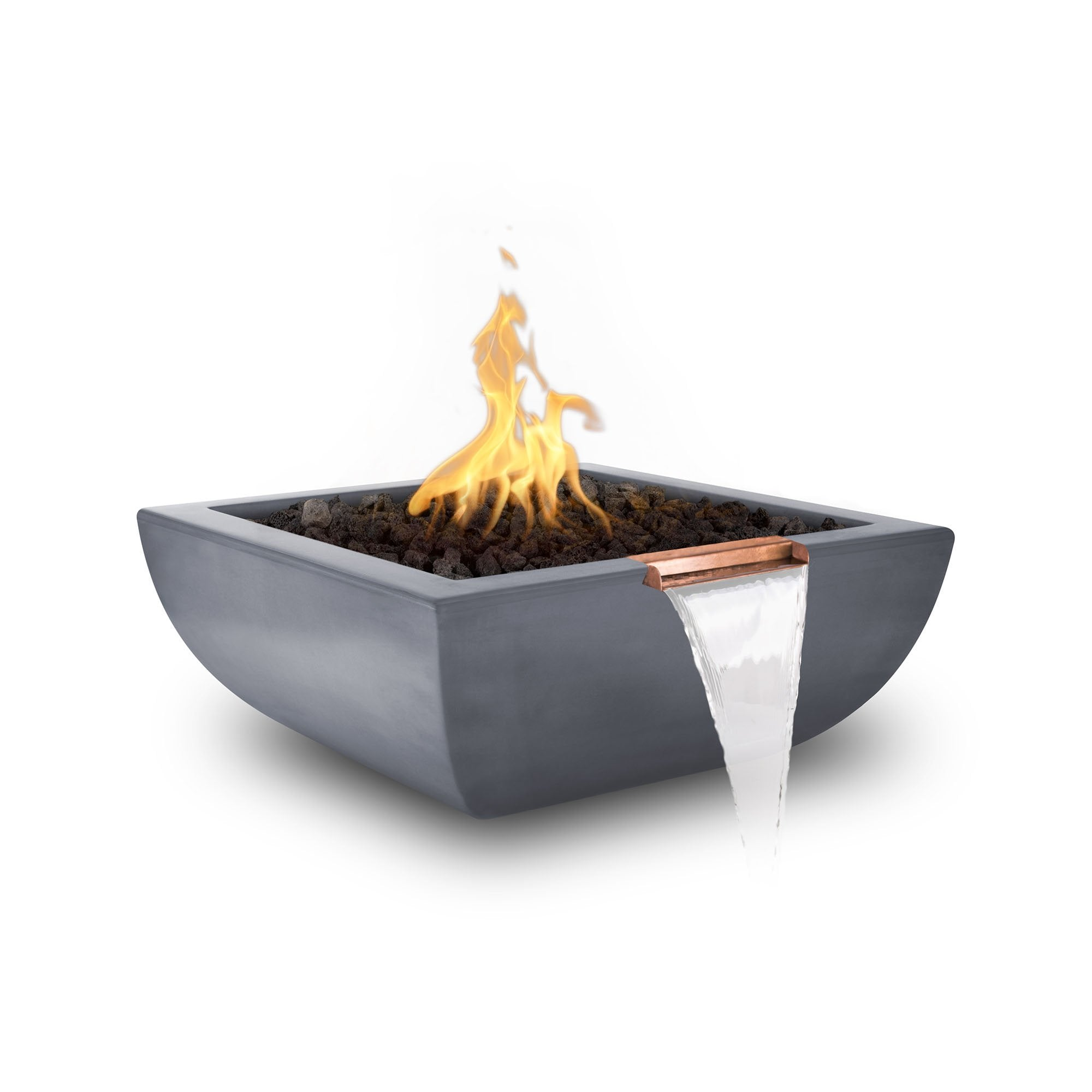 "TOP Fires by The Outdoor Plus Avalon Fire & Water Bowl 36"" - Fire Pit Oasis"