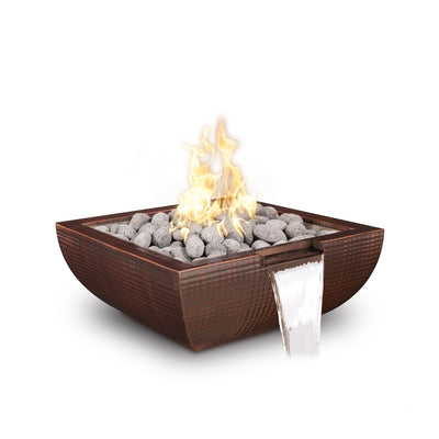 "TOP Fires by The Outdoor Plus Avalon Metal Fire & Water Bowl 30"" - Fire Pit Oasis"