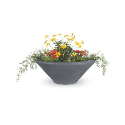 "TOP Fires by The Outdoor Plus Cazo Planter Bowl 36"" - Fire Pit Oasis"