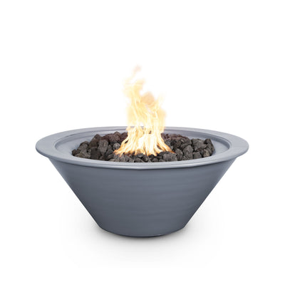 "TOP Fires by The Outdoor Plus Cazo Powder Coated Steel Fire Bowl 24"" - Fire Pit Oasis"