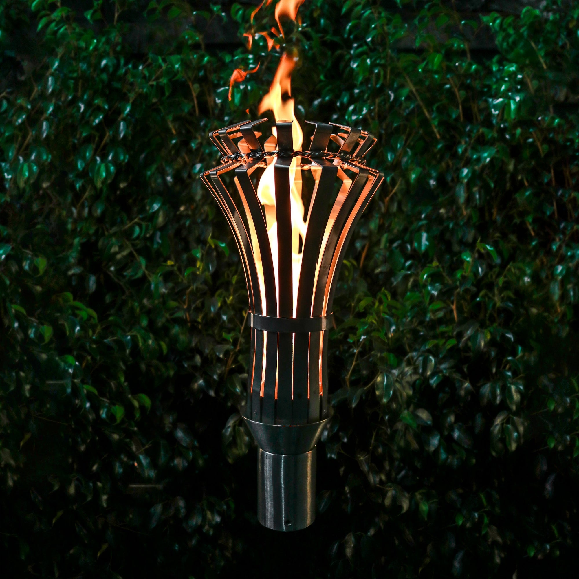 TOP Fires by The Outdoor Plus Gothic Fire Torch - Fire Pit Oasis