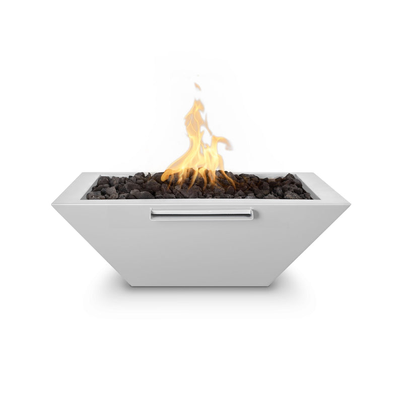 """TOP Fires by The Outdoor Plus Maya Powder Coated Steel Fire & Water Bowl 24"""""""