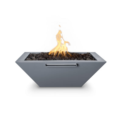 "TOP Fires by The Outdoor Plus Maya Powder Coated Steel Fire & Water Bowl 24"" - Fire Pit Oasis"
