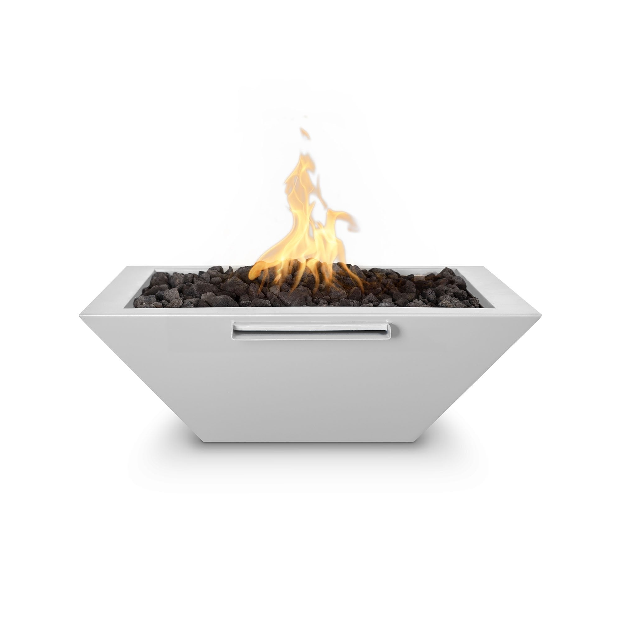 "TOP Fires by The Outdoor Plus Maya Powder Coated Steel Fire & Water Bowl 30"" - Fire Pit Oasis"