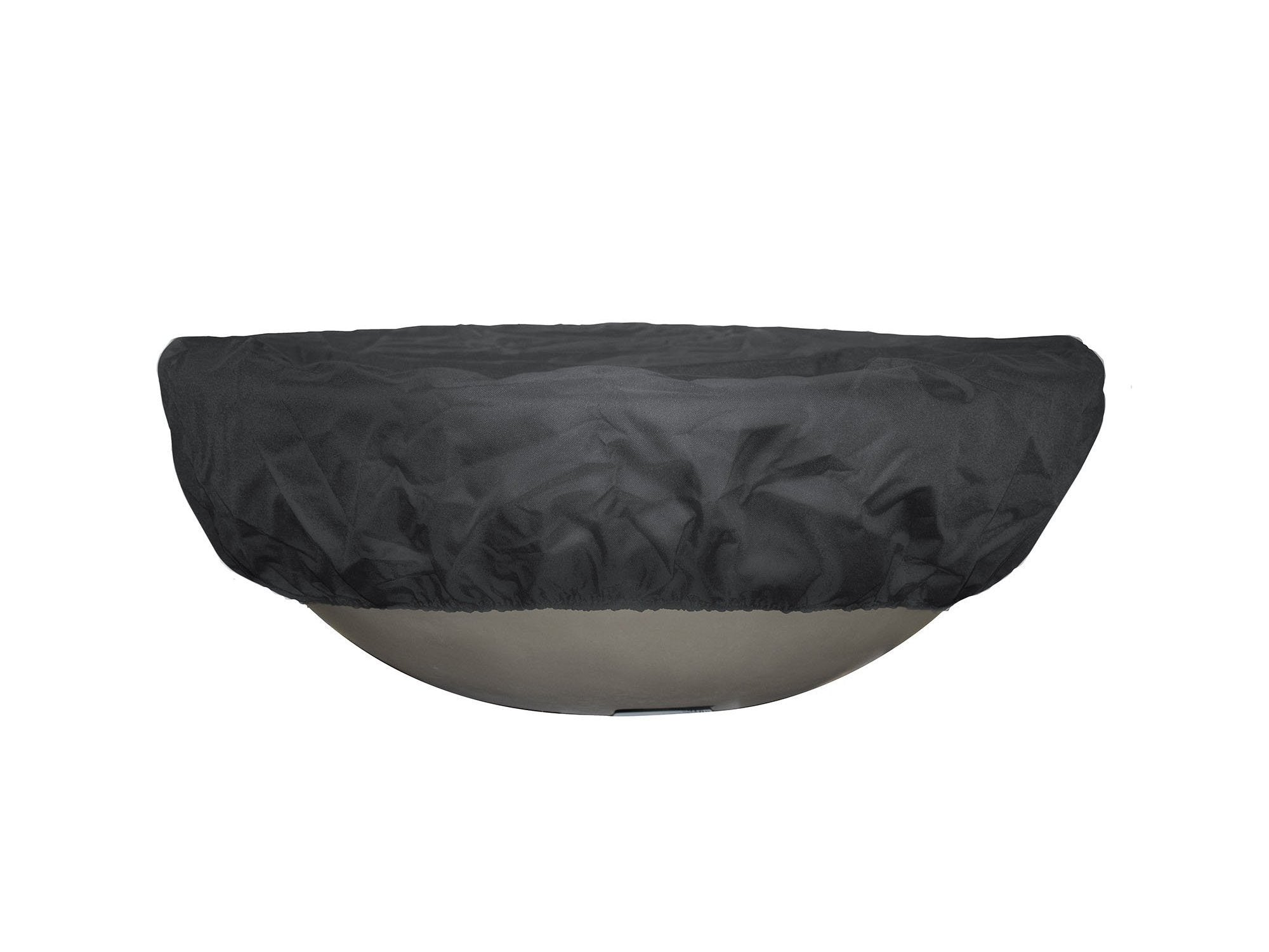 "TOP Fires by The Outdoor Plus Round Bowl Canvas Cover 29"" - Fire Pit Oasis"