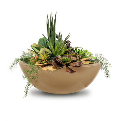 "TOP Fires by The Outdoor Plus Sedona Planter Bowl 27"" - Fire Pit Oasis"