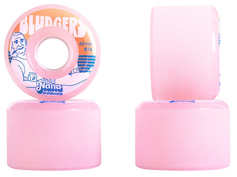 NANA Wheels Bludgers 62mm 82a - Pink