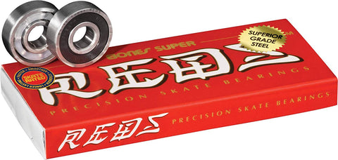 Bones Super Reds - 8 Pack of Bearings