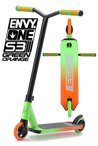 ENVY ONE S3 - Green/Orange