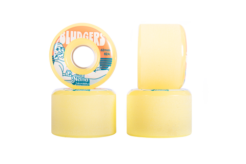 NANA Wheels Bludgers 62mm 82a -Yellow