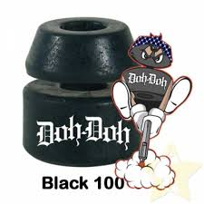 Shorty's Doh Doh Skateboard Bushings 100 Black