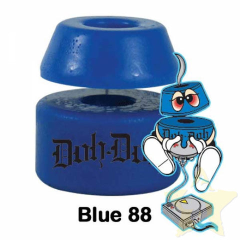 Shorty's Doh Doh Skateboard Bushings 88 Blue