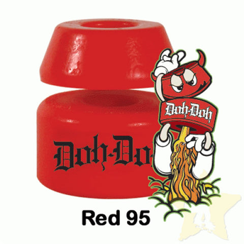 Shorty's Doh Doh Skateboard Bushings 95 Red