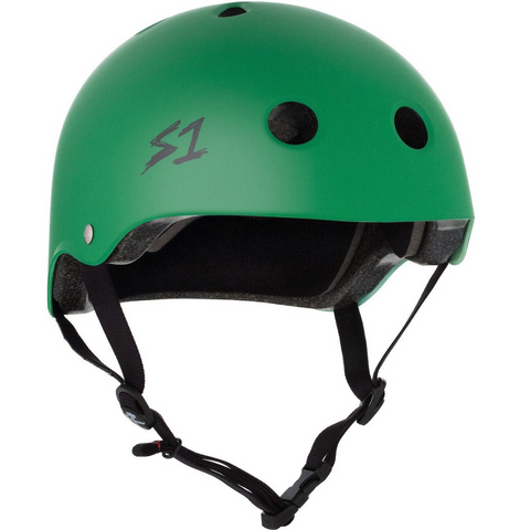 S-ONE Lifer Helmet - Kelly Green Matte