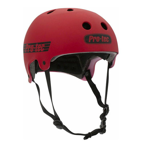 PROTEC M Old Skool Certified Helmet - Matte Red