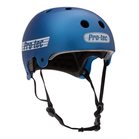 PROTEC L Old School Certified Helmet - Matte Metallic Blue