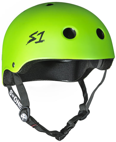 S-ONE Lifer Helmet - Bright Green Matte