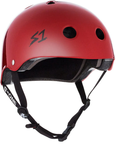 S-ONE Lifer Helmet - Scarlet Red Gloss