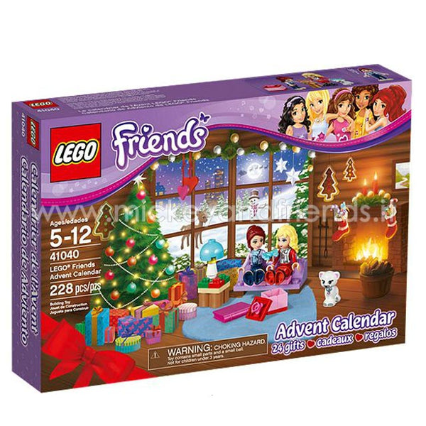 Calendario dell'avvento 2014 - Lego Friends