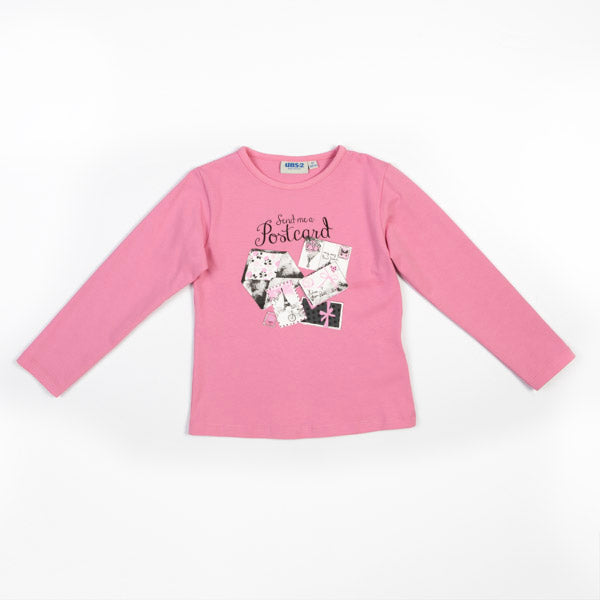 MAGLIA BAMBINA UBS2 PINK LEVEL
