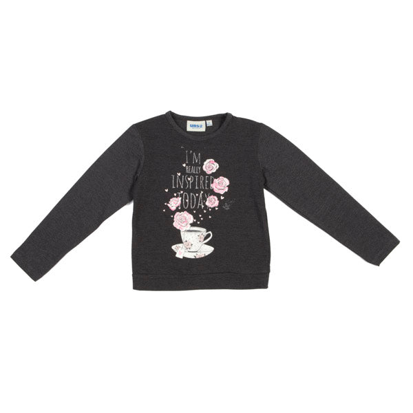 MAGLIA BAMBINA ANTRACITE UBS2 PINK LEVEL