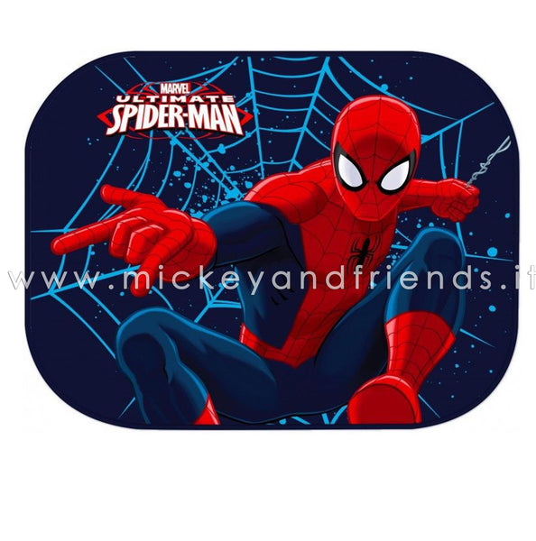 SPIDERMAN TENDINE PARASOLE AUTO BAMBINI DISNEY MARVEL