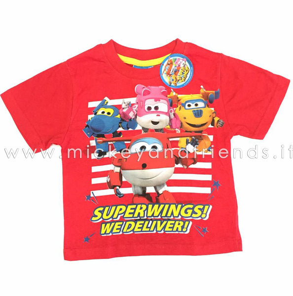 SUPER WINGS T SHIRT BAMBINO
