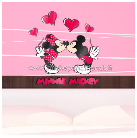 Adesivi Murali Minnie E Topolino.Stickers Murali Mickey And Friends Shop Italia Abbigliamento
