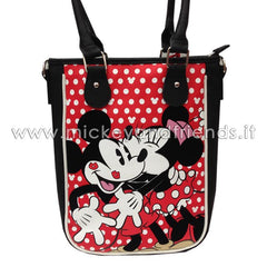 Borsa Shopper | Minnie & Topolino | Rossa