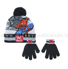 CAPPELLO E GUANTI SPIDERMAN