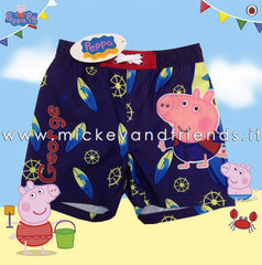 Costume mare George Peppa Pig | Pantaloncino Blue