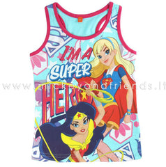 T-SHIRT SUPER HERO GIRLS WONDER WOMAN