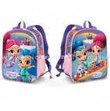 ZAINO ASILO SHIMMER AND SHINE DOPPIO